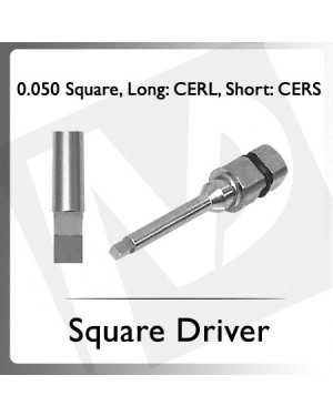 0.050 Square Driver Short/Long