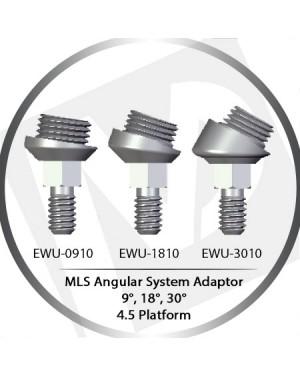 9º, 18°, 30° Angle MLS System Adaptor – 4.5 Platform