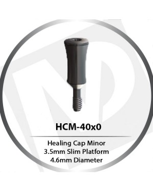Healing Cap Minor - 3.5mm Slim Platform