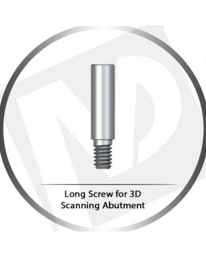 Long Screw For 3D Scanning Titanium Abutment
