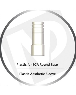 Plastic Aesthetic Sleeve – ECA Round Base