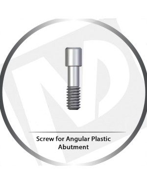 Screw for Angular Plastic Abutment