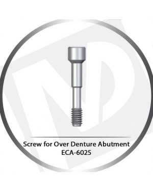 Screw for Over Denture Abutment ECA-6025