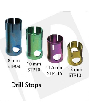 8, 10, 11.5 and 13 mm Drill Steps
