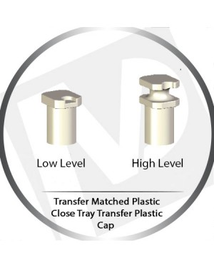 TMP-00xx Matched Close Tray High & Low Level Transfer Plastic Cap