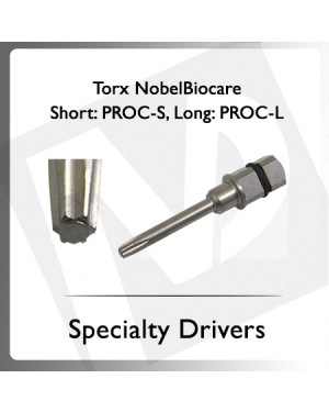 Torx NobleBiocare Short/Long