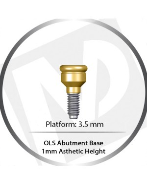 1 mm – 3.5 Platform base OLS Abutment Over Denture