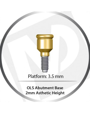 2 mm – 3.5 Platform base OLS Abutment Over Denture