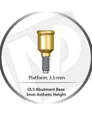 4 mm – 3.5 Platform base OLS Abutment Over Denture