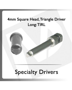 4mm Square Head Triangle Driver Long