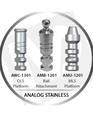 Speciality Platform Analog Stainless Steel Body