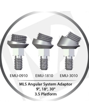 9º, 18°, 30° Angle MLS System Adaptor – 3.5 Platform