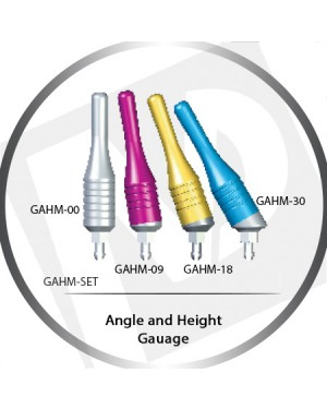 Angle & Height Gauges, 0°, 9°, 18°, 30° and Full Set