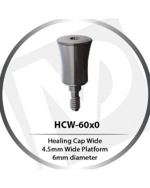 Healing Cap Wide - 4.5mm Wide Platform