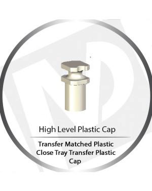 Matched Close Tray High Level Transfer Plastic Cap