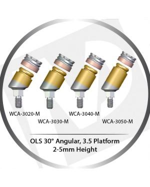 30° x 2-5mm x 3.5 Platform OLS Abutment Angular MLS System Concept