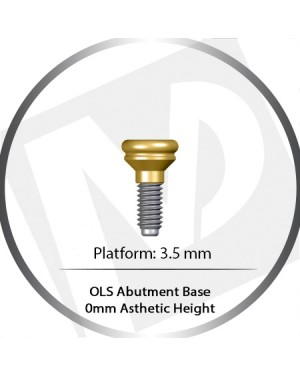 0 mm – 3.5 Platform Base OLS Abutment Over Denture
