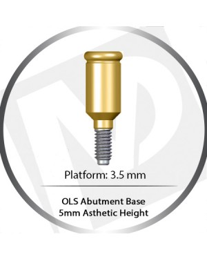 5 mm – 3.5 Platform base OLS Abutment Over Denture